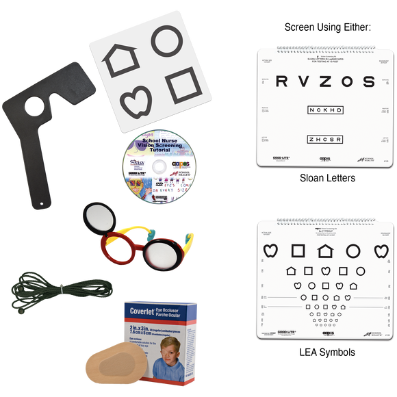 AAPOS Vision Screening Kit