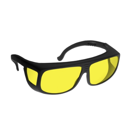 Noir 81% Yellow Medium-Fitover Glareshield Frame