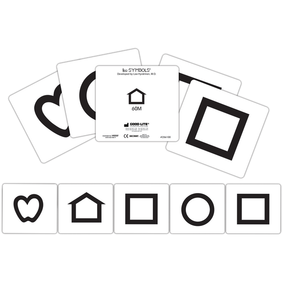 LEA SYMBOLS® Cards, 40M and 60M