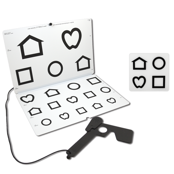 LEA SYMBOLS® Chart for Vision Rehabilitation