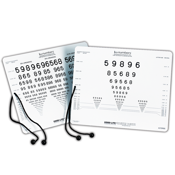 LEA NUMBERS® Near Vision Card