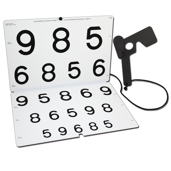 LEA NUMBERS® Chart for Vision Rehabilitation