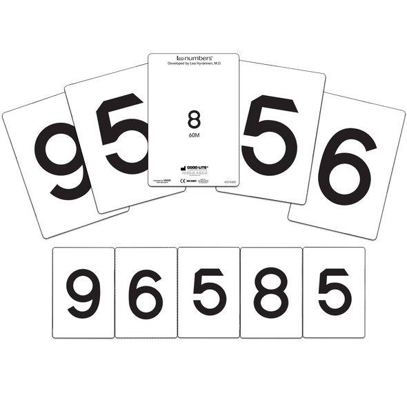 LEA NUMBERS<sup>®</sup> Cards, 40M and 60M