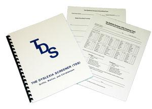 The Dyslexia Screener (TDS) - Quick Screener