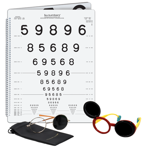LEA NUMBERS<sup>®</sup> Low Vision Book