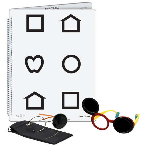 LEA Symbols® Low Vision Book