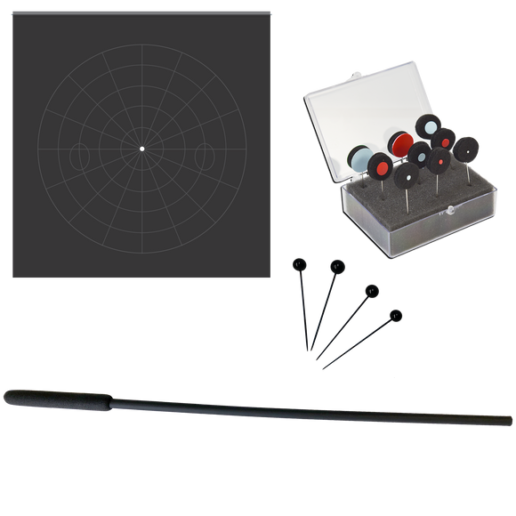 Tangent Screen - One Meter Complete Kit With Screen, Test Objects and Accessories