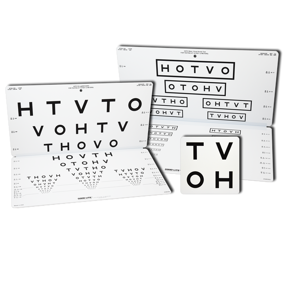 HOTV Distance Folding Pediatric Eye Chart