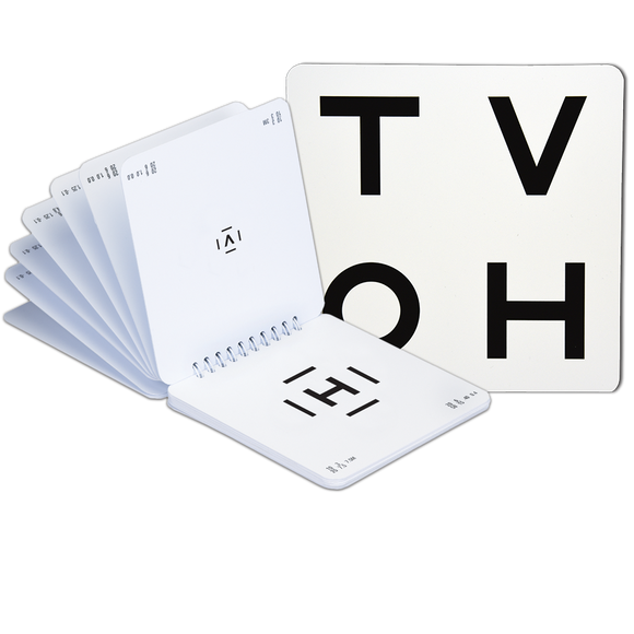 HOTV Letter Book with 50% Spaced Bars