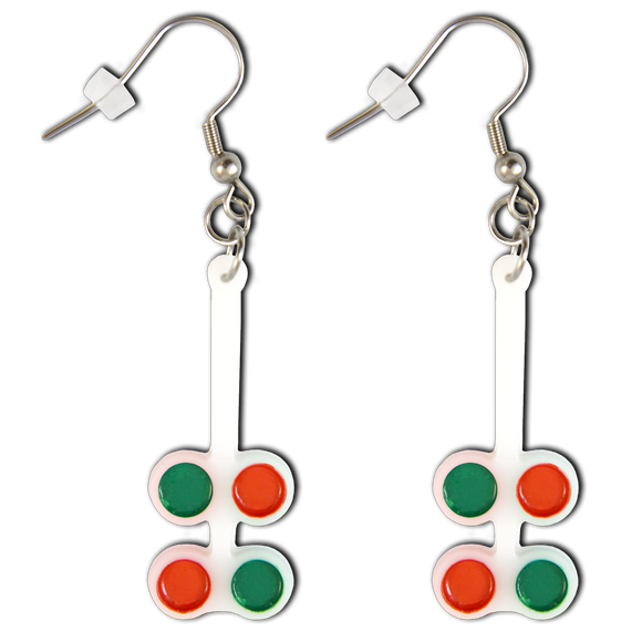 Good-Lite Flipper Earrings