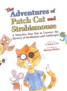 Patch Cat and Strabismouse Book