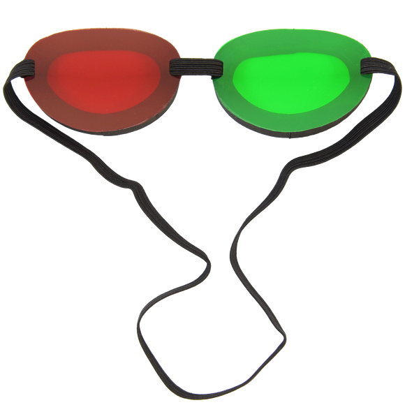 Large Red/Green Anti-Suppression Goggles
