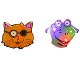 Patch Cat & Mr. Frog Flashing Fixation Light Set