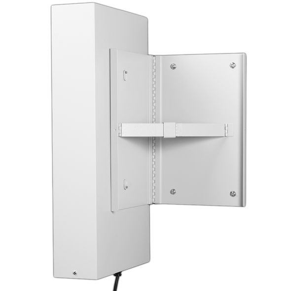 Hinged Wall Bracket for Illuminated Cabinets