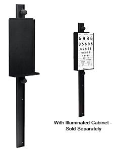 Adjustable Wall Mount for ESV1500 and ESV1200 Illuminated Cabinets