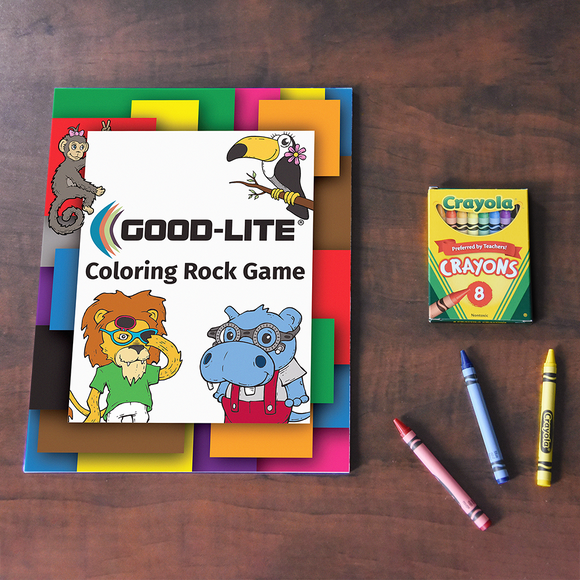Good-Lite Coloring Rock Game
