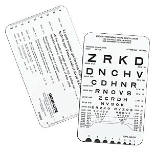 Spanish Near Vision Reading Card