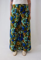 Blue Rose Wide Leg Pants