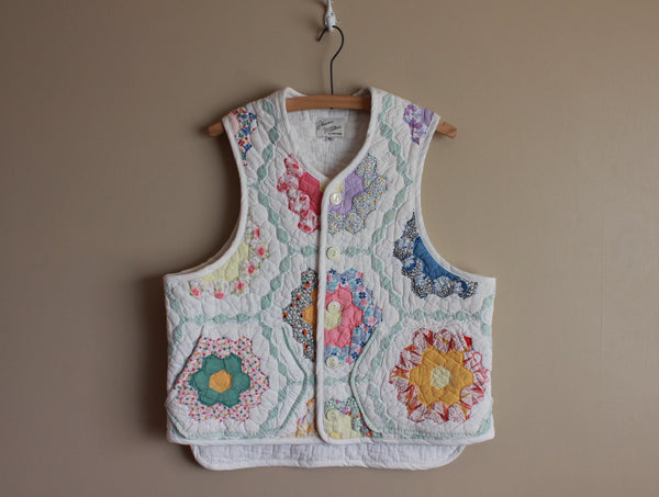 Hexagon Quilt Vest