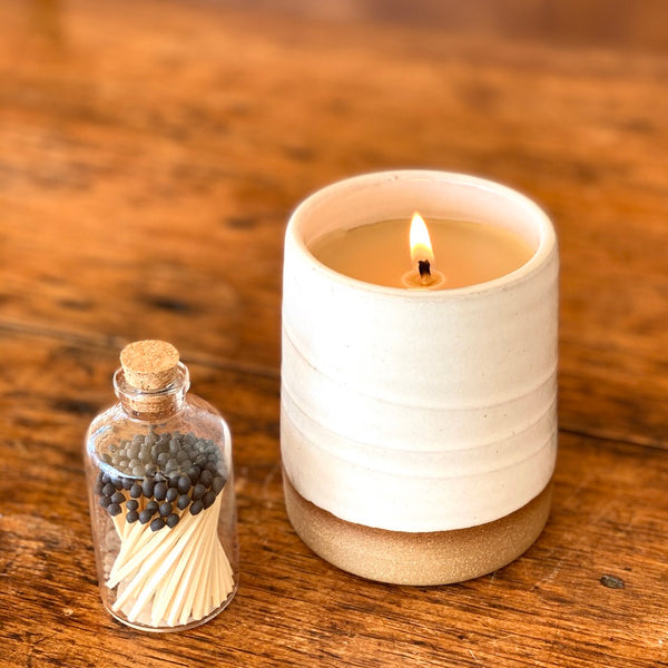100% Meant to Beeswax Ceramic Candle