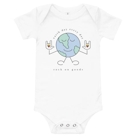 Baby Earth Day Every Day Onesie