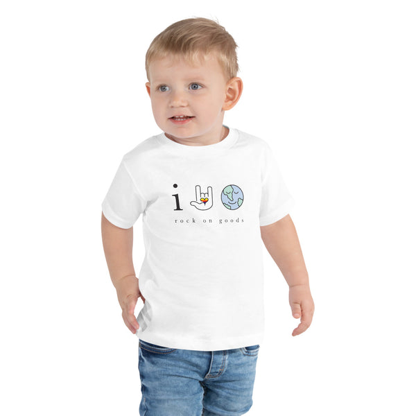 Toddler Earth Day Every Day Double Sided Tee