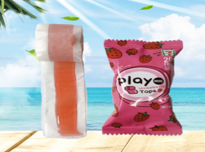Play More - Strawberry Gummy Tape
