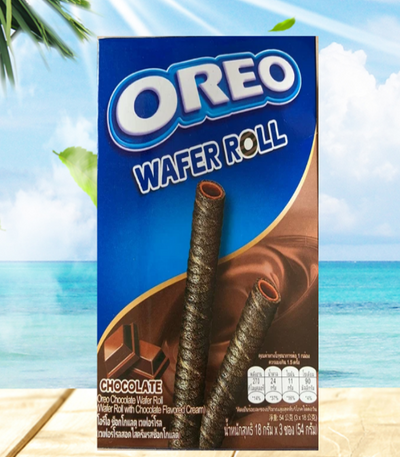 Oreo Wafer Roll - Chocolate - 3 Pck