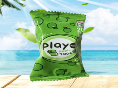 Play More - Apple Gummy Tape