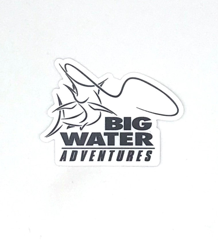 BigWater Adventures Sticker
