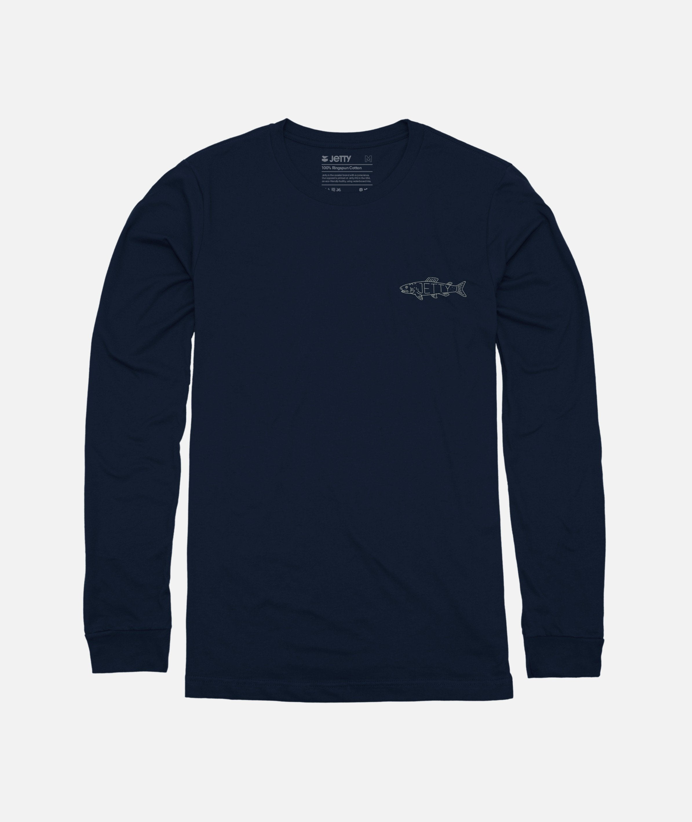 Linefish Long Sleeve Tee