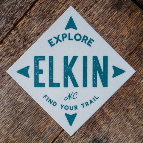 Explore Elkin Sticker