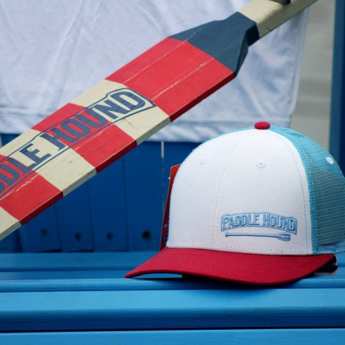 Paddle Hound Red, White and Blue Hat