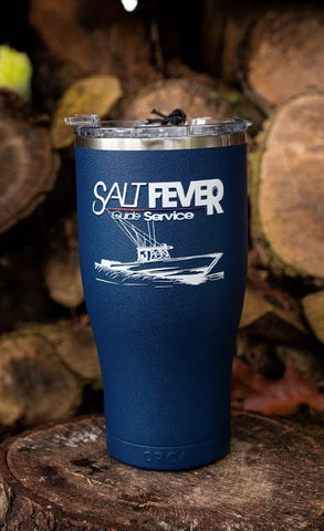 Salt Fever Guide Service ORCA 27oz Chaser