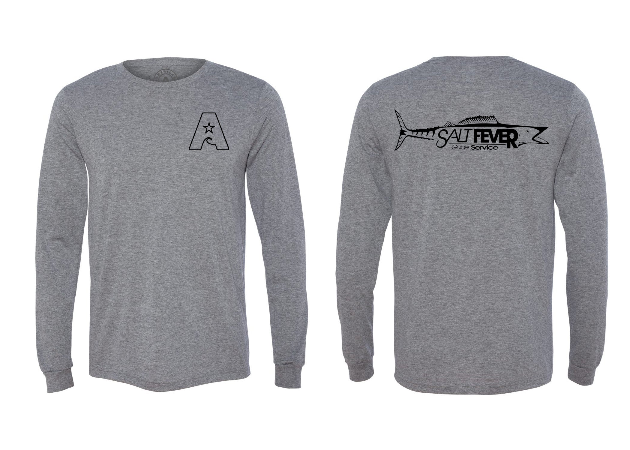 Salt Fever Long Sleeve Triblend