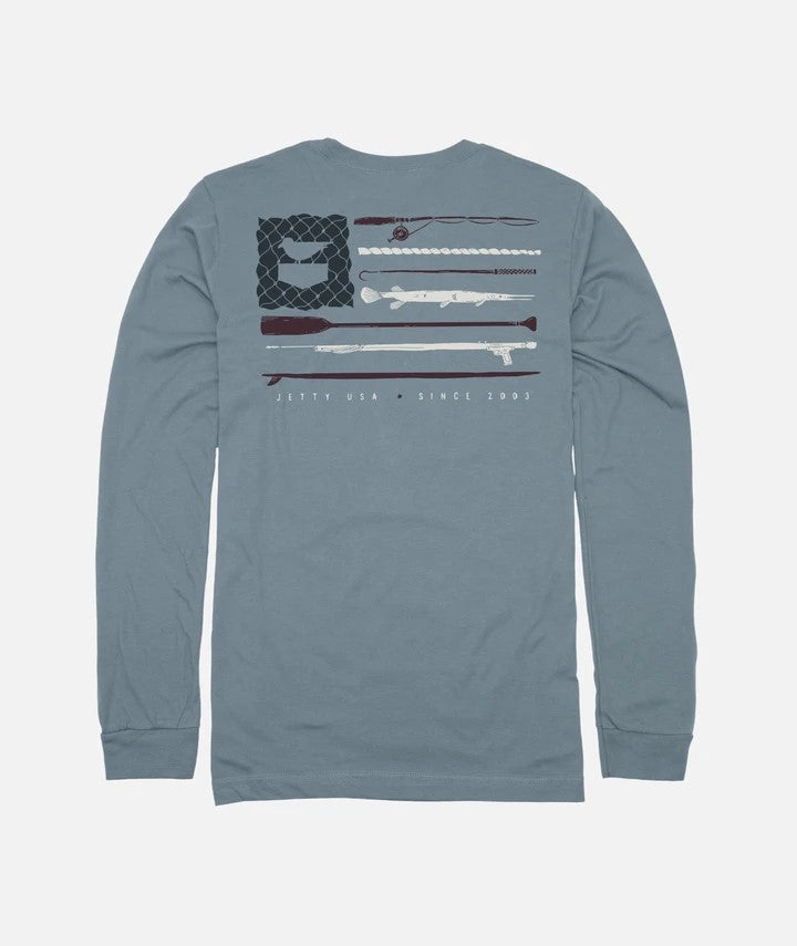 Old Glory Longsleeve Tee
