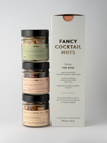 Nut Pairings: TRIO for wine gift box