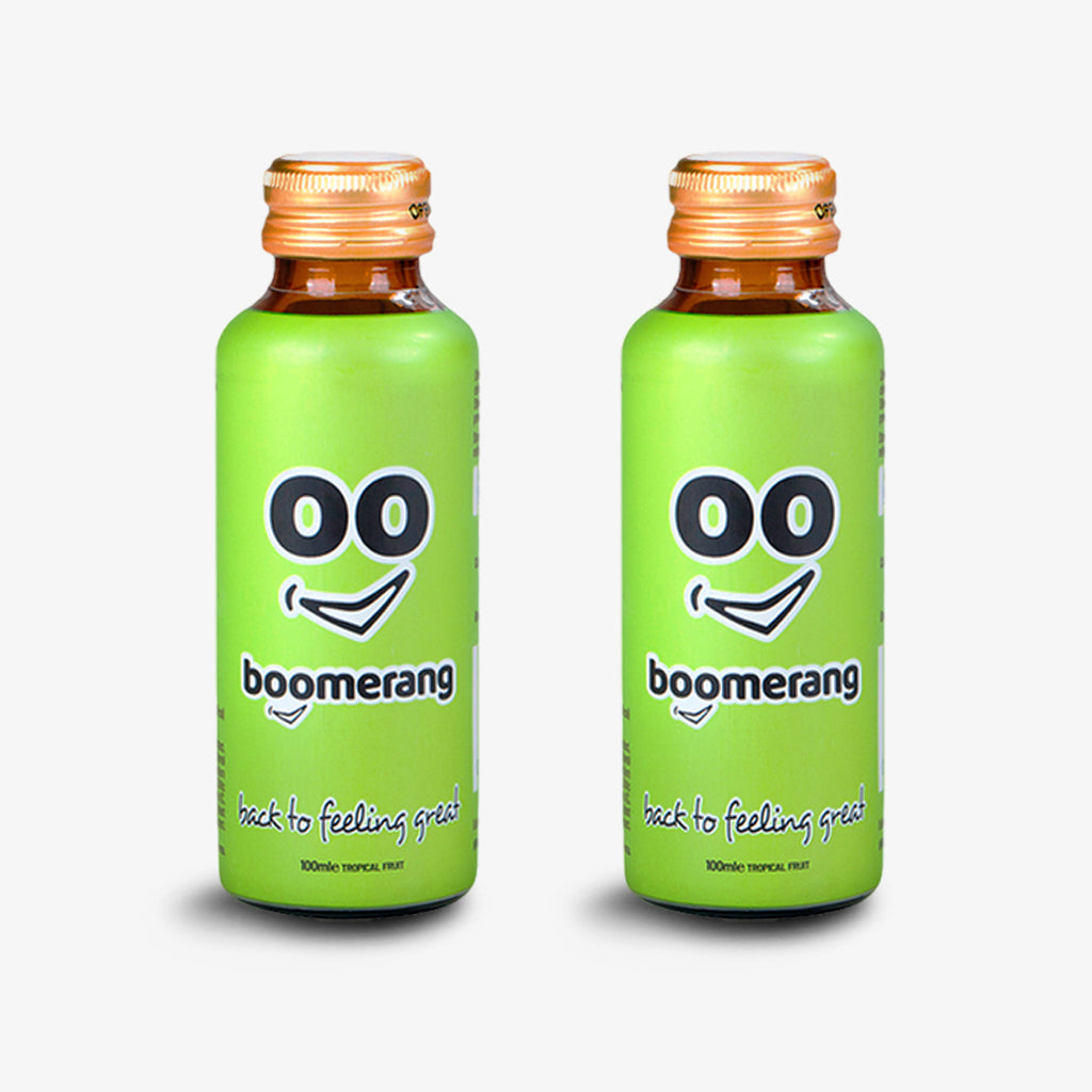 FOUR FREE PACK Boomerang Drink