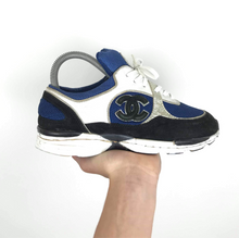 Load image into Gallery viewer, Vintage Chanel Trainers UK 4