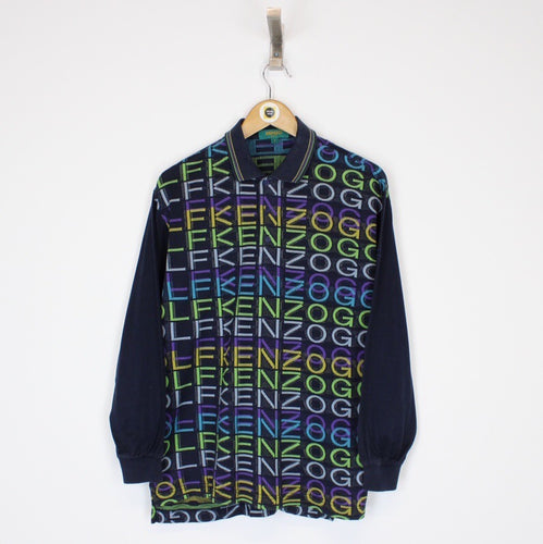 Vintage Kenzo Polo Shirt Medium