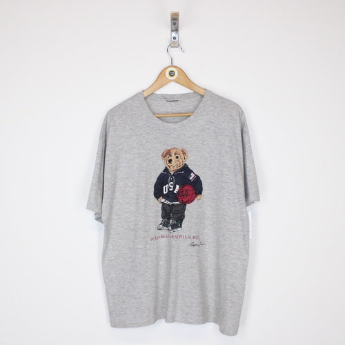 Vintage Polo Bear T-Shirt XL