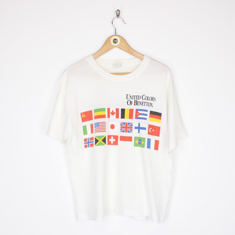 Vintage Benetton T-Shirt Small