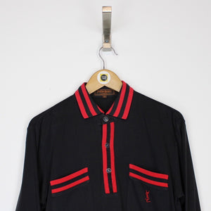 Vintage Yves Saint Laurent Polo Shirt Medium