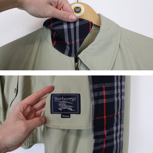 Vintage Burberry Harrington Large