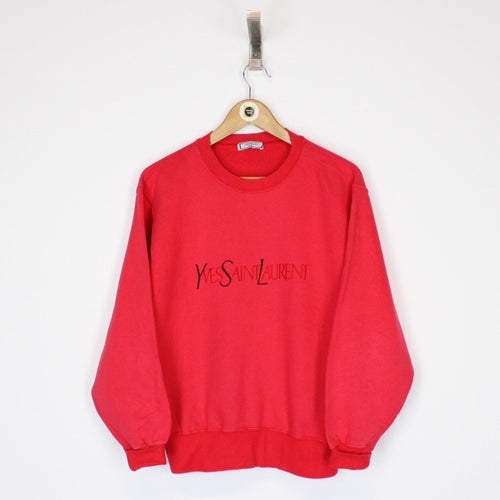 Vintage Yves Saint Laurent Sweatshirt Medium