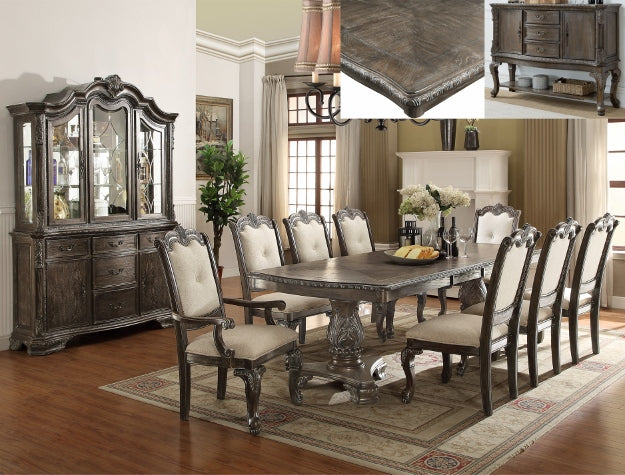 KIERA DINING GROUP GREY SET D2151 - Best Discount