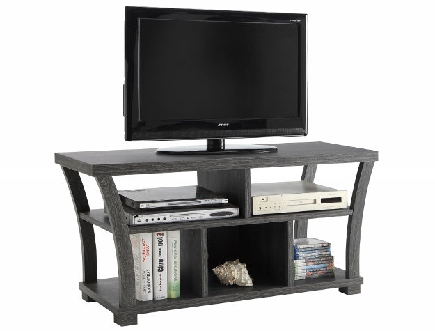 DRAPER GREY TV STAND 4906-GY - Best Discount