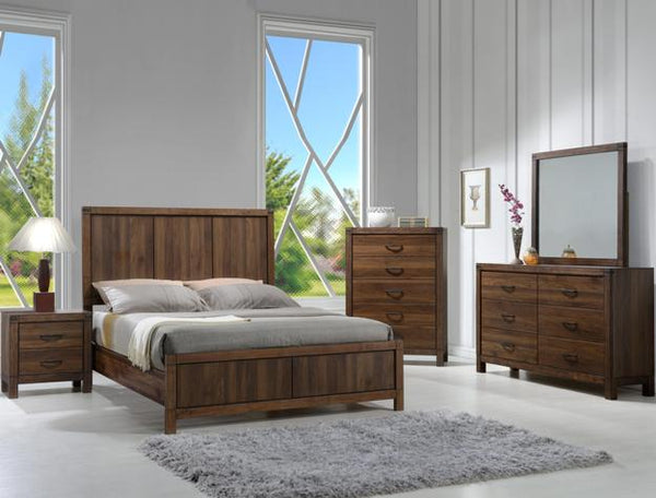 BELMONT WOOD BEDROOM GROUP SETB3100-WD - Best Discount