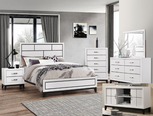AKERSON CHALK BEDROOM GROUP SET B4610 - Best Discount
