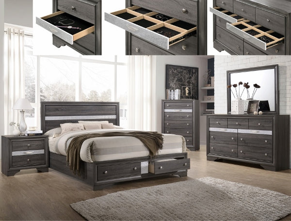 REGATA BEDROOM GROUP SET B4650 - Best Discount